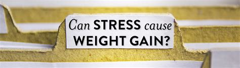 Can Detox Make You Gain Weight by Can Stress Cause Weight Gain Isowhey