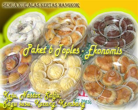 Kacang Mede Lebaran Paket 6 aneka grosir kue kering murah lebaran 2009 kue lebaran paket 6 4