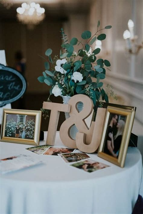 trending wedding guest book sign  table decoration