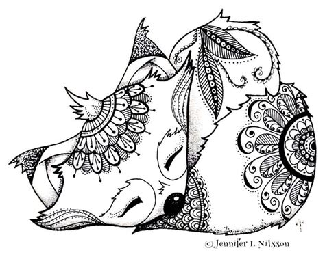 Fox Coloring Pages by Fox Coloring Page Coloring Foxes