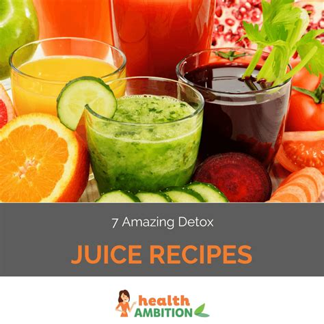 Detox Kale Juice Recipes by 7 Amazing Detox Juice Recipes