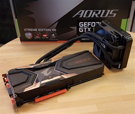 Vga Card Gigabyte Aorus Gtx 1080 Ti 11gb Ddr5x unboxing aorus geforce gtx 1080 ti waterforce xtreme