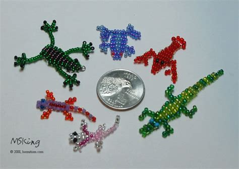 beaded animal patterns 2d bead animals 1 by hermitworm on deviantart