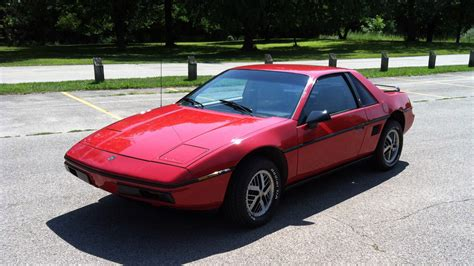 1984 Pontiac Fiero by 1984 Pontiac Fiero T54 Chicago 2014