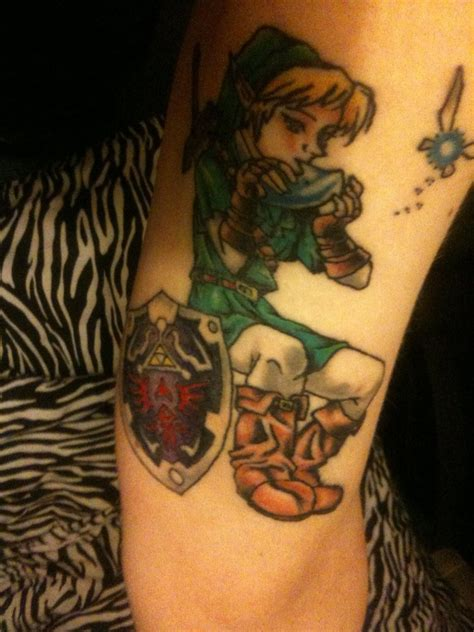 link tattoo my link legend of by plastic anime on
