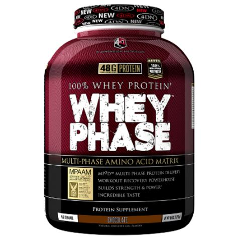 Whey Phase 5 Lbs 4dn Whey Phase 5lb By Fitmall