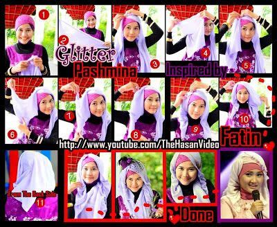tutorial pashmina rajut glitter 17 best ideas about pashmina hijab tutorial on pinterest