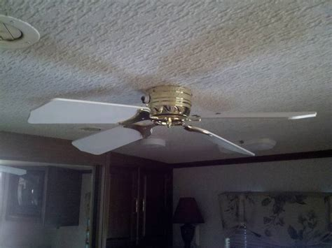 rv ceiling fans ceiling fan screwed it up need new one page 2