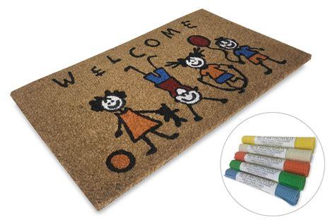 tappeto zerbino zerbino in naturale fibra di cocco e gomma antiscivolo