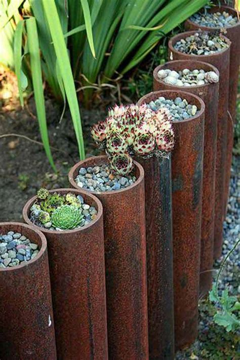 Unique Landscape Edging Ideas Top 28 Surprisingly Awesome Garden Bed Edging Ideas