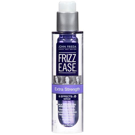 hair 50 frizz john frieda hair serum extra strength formula