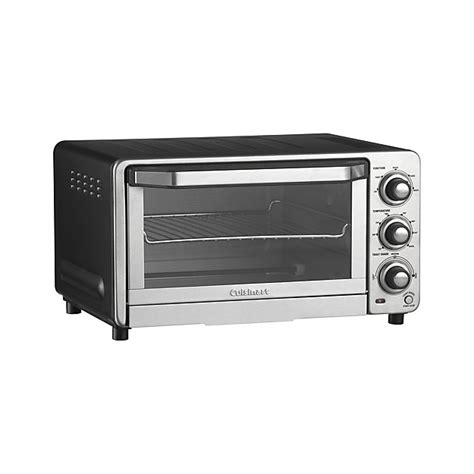 Toaster Oven With Auto Slide Out Rack Cuisinart Toaster Oven Broiler Tob 40n Crate And Barrel