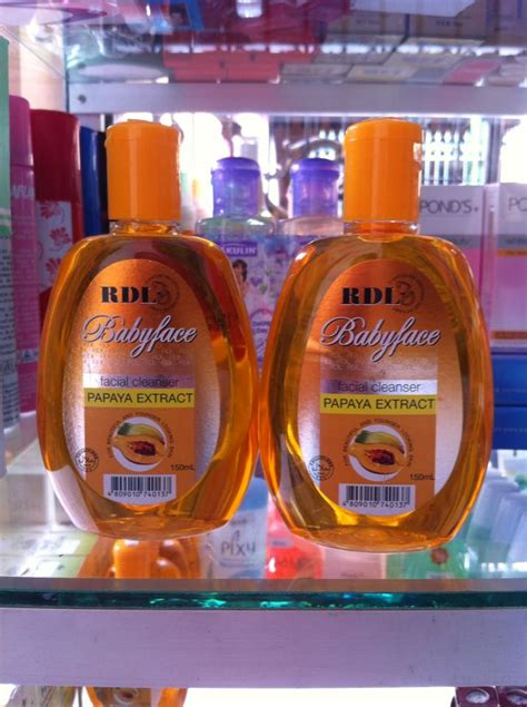 Pembersih Wajah Rdl rdl babyface cleanser with papaya extract original