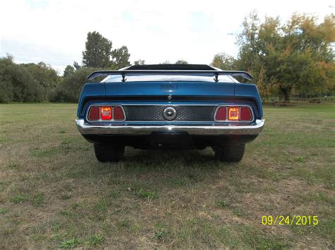 1972 mustang shelby gt500 1972 numbers matching ford mustang mach 1 not shelby