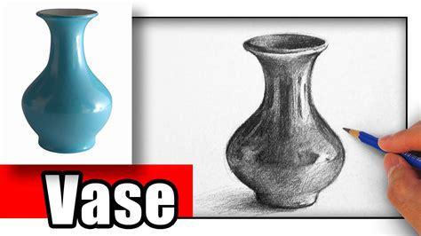 Drawing Of Vase by How To Draw A Vase With Pencil