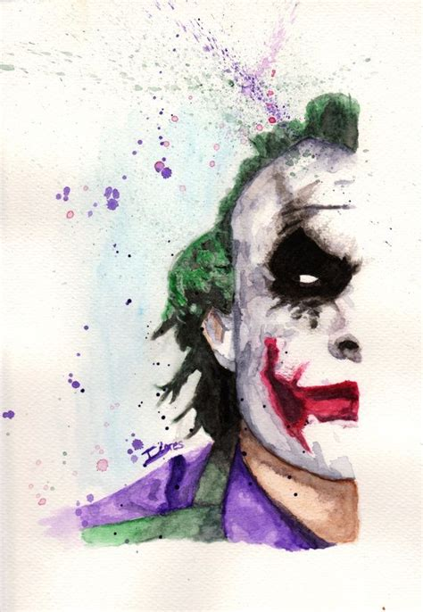 watercolor tattoo joker 25 best ideas about batman comics on batman
