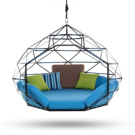 swing seat indoor the pod by kodama zome 169 outdoor swing bed lounge