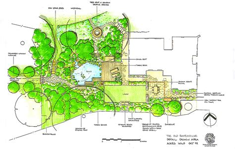 acres wild masterplan cool and composed acres green oaks garden