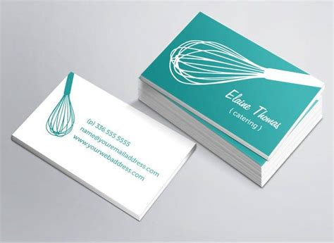 business cards templates for catering 17 catering business card designs templates psd ai
