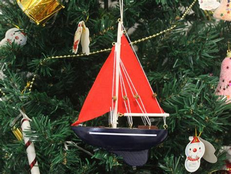 buy wooden american paradise model sailboat christmas tree