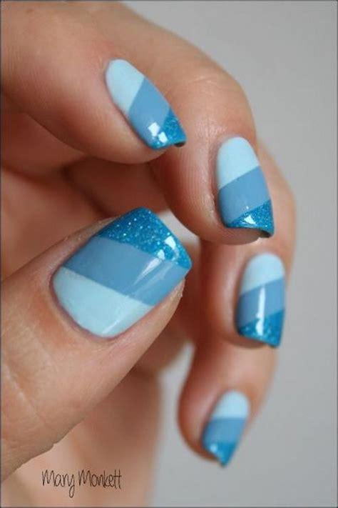 blue pattern nails nail art designs dark blue nail art ideas
