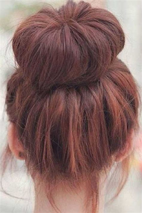 Simple Bun Hairstyles by 15 Buns Hairstyles Hairstyles Haircuts 2016 2017