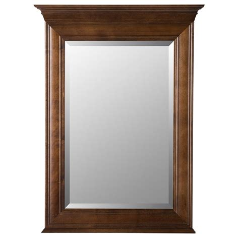 home decorators collection mirrors home decorators collection templin 30 in x 34 in framed wall mirror in coffee 19dvm3034 the