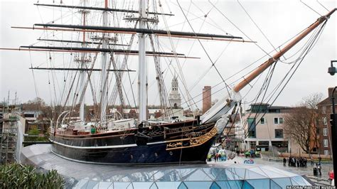 cutty sark boat london bbc news in pictures cutty sark ship shape once more