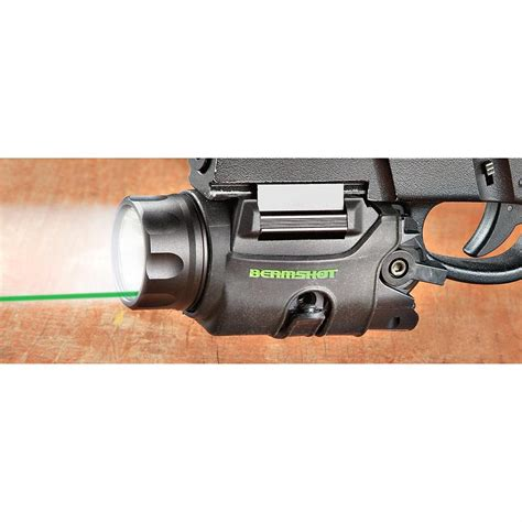 green laser light combo beamshot gb9000 tactical green laser light combo