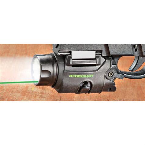 tactical light and laser beamshot gb9000 tactical green laser light combo