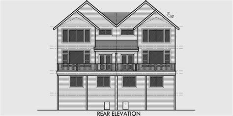 duplex townhouse plans luxury townhouse plans studio design gallery best