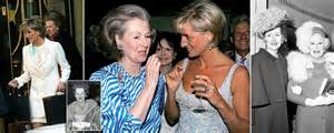raine spencer stepmother of princess diana dies aged 87 home daily mail online
