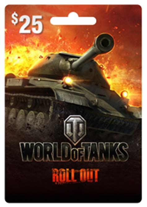 World Of Tanks Gift Card - world of tanks prepaid cards available now premium shop