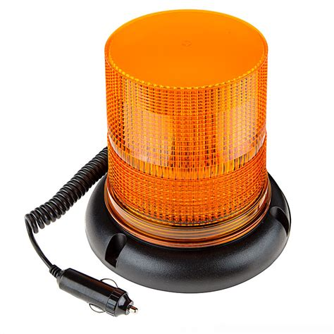 magnetic strobe lights 6 3 4 quot led strobe light beacon with 40 leds magnetic base bright leds