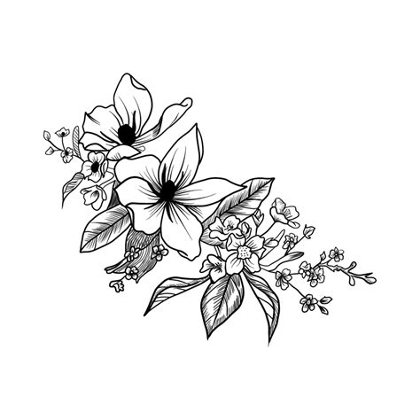 grey flower tattoo designs bleached daffodil daffodil temporary momentary ink