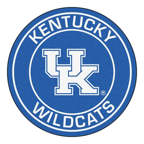 Funny Doormats university of kentucky wildcats logo roundel mat 27 quot