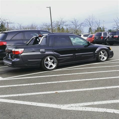 Slammed Subaru Baja I Love It