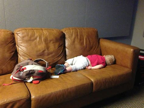 sleeping with baby on couch work a place for family