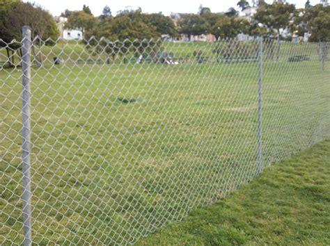 fenced park fences up at dolores park 171 mission mission