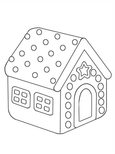 gingerbread house daycare christmas clown and gingerbread house coloring page gingerbread house coloring pages