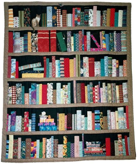 bookcase quilt so seriously awesome quilts