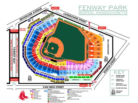 sox seating chart fenway park end stage seating