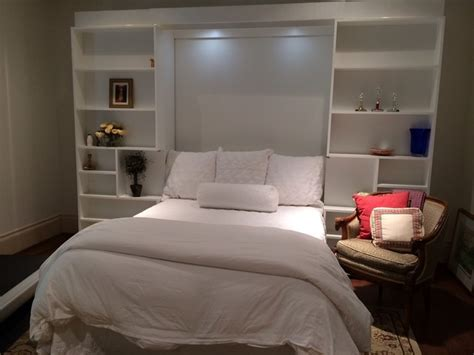 jefferson library bed in white traditional bedroom dallas by more space place dallas