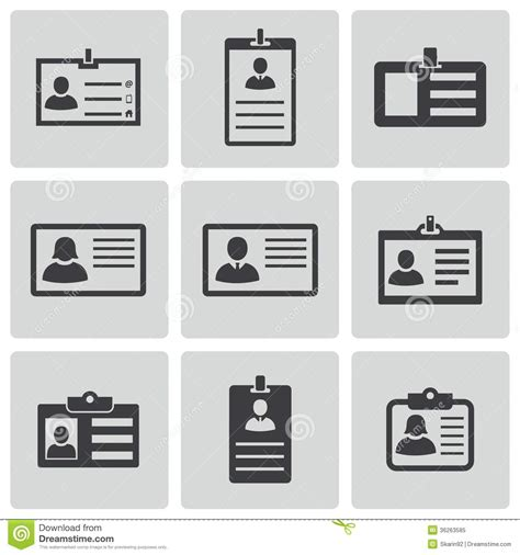business vector royalty free stock images image 1449729 vector black id card icons set royalty free stock photo image 36263585