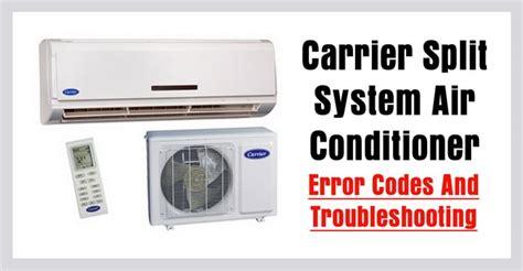 Samsung Ac E3 carrier split air conditioner ac error codes