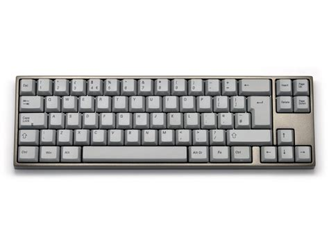 Keyboard Varmilo Uk Va69m Pbt Backlit Aluminum Alloy Light Grey Tactile