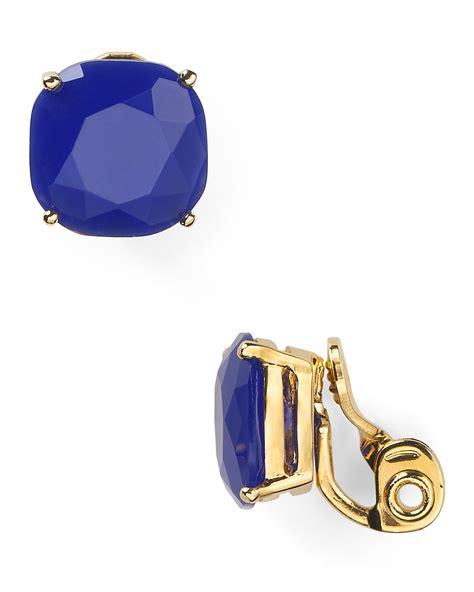 kate spade new york small clip earrings bloomingdale s