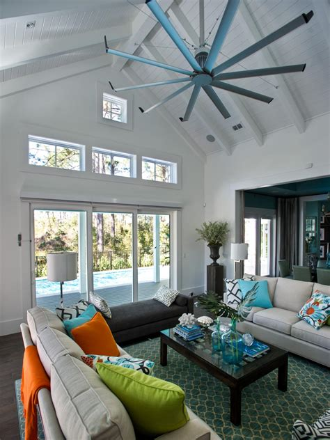 ceiling fans for living room photos hgtv