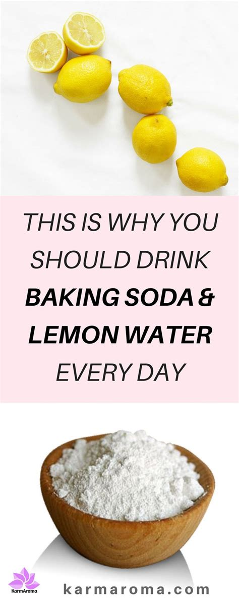 Detox Baking Soda Lemon by This Is Why You Should Drink Baking Soda Lemon Water