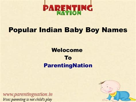 names with meaning popular indian baby boy names with meanings
